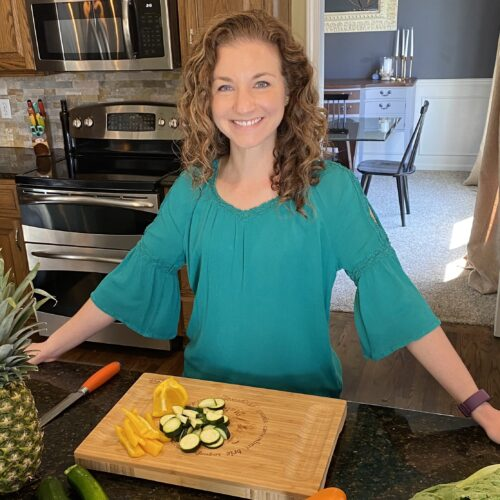 Image of Katie in the Kitchen