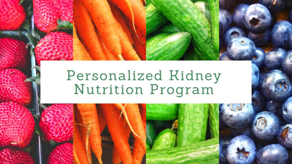 Personalized Kidney Nutrition Program